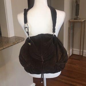 Authentic Vintage YSL Hobo Shoulder Bag